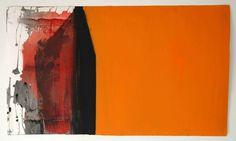 Ana Sério Exterior III 117/12 2012 Oil x Paper 58 cm x 102 cm #AnaSério #Artist #Art #Oil #Painting #Color #Portugal #Gallery #SaoMamede #Artwork