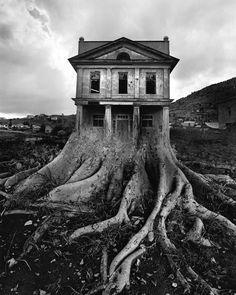 I love this non-digital photomontage created by Jerry Uelsmann.