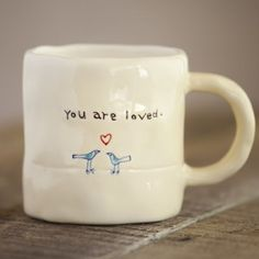 You Are Loved Live Simply Mug