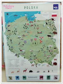 Boberkowy World : Polsko, kocham Cię - tygodniowy plan zajęć dla 3-latków Diagram, Map, World, Location Map, Maps, The World