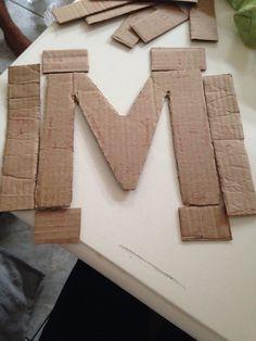 Letra 3D preparo