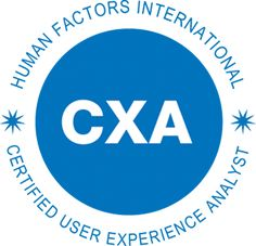 HFI offers CXA certification for advanced UX practitioners
