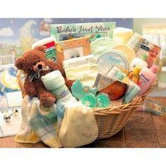 A Unique Baby Gift Basket