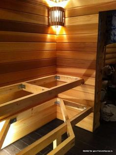 Basement Sauna, Sauna Room, Steam Room Shower, Mobile Sauna, Building A Sauna, Sauna House, Sauna Heater, Outdoor Sauna, Sauna Design