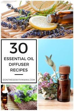 30 Essential Oil Diffuser Recipes - great for beginners or anyone looking for new diffuser recipes - DontMesswithMama.com