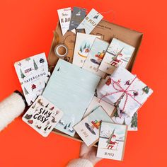 Papergang: The Monthly Stationery Subscription Box By Ohh Deer Gift Subscription Boxes, Ohh Deer, Activity Box, Graphic Design Studios, Coffee Gifts, Gift Guide, Stationery, Gift Wrapping, Activities