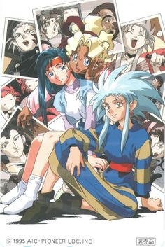 Tenchi Girls <3
