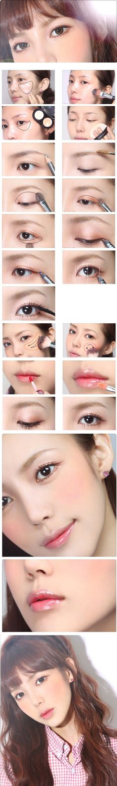 Makeup pictorial - #Korean #Ulzzang #makeup #pictorial
