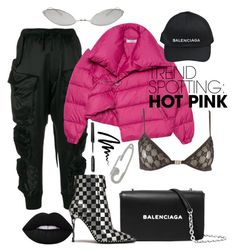 """""""Untitled #28"""" by fhily ❤ liked on Polyvore featuring Unravel, Marques'Almeida, Gucci, Balenciaga, Bobbi Brown Cosmetics, Alexander Wang, Acne Studios and Runa"""