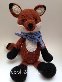 Little fox, crochet fox, fox, toy, baby toy, nurcery decor, woodland, wood animal, gift, door Ollebol op Etsy