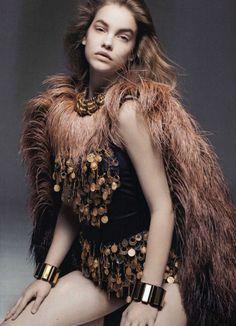 Barbara Palvin by Liz Collins  in Voodoo Child Im gonna start dressing like this.