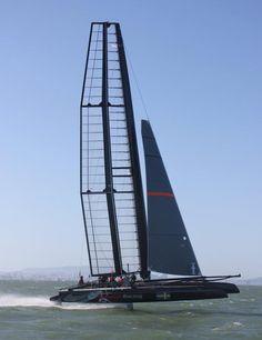 Artemis Racing launches foiling onto San Francisco Bay Sailing Catamaran, Yacht Boat, Sailing Ships, Classic Sailing, Classic Yachts, Carver Boats, Sailing Pictures, Sail Racing, Sail World
