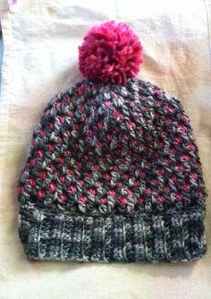 Crochet hat かぎ針編みのニット帽