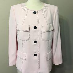KASPER baby pink Size 10P Jacket Dressy jacket . With tags on Kasper Jackets & Coats