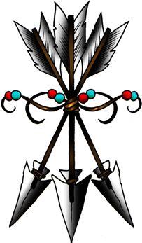 Native American Arrow Design