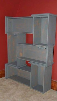 Recycle dresser drawers