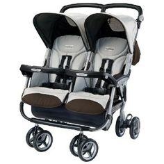 Peg Perego Aria Twin Stroller