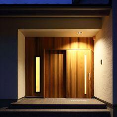 大和屋木製玄関引き戸 | 自然素材商品 | 大和屋株式会社 建材部