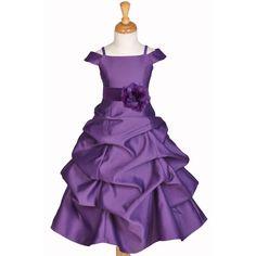 MULTI-COLOR FLOWER GIRL DRESS SPAGHETTI STRAP CAP SLEEVE 2 2T 4 5 6 7 8 10 12 14 #Dress