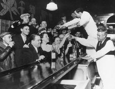 THE NIGHT PROHIBITION ENDED IN 1933