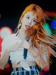 ●TWICE #Chaeyoung 180623 LOTTE DUTY FREE FAMILY CONCERT 27th● Twice What Is Love, Rapper, Concert, Hair, Beauty, Babies, Free, Babys, Recital
