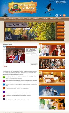 Custom Wordpress site built for the Big Bear Village Association with several plugins and customizations to the plugins.  Site utilized a unique event calendar, video, slideshows and more - from http://webdev123.com