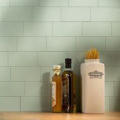 Aspect Peel And Stick Backsplash 3inx6in Morning Dew Glass Backsplash Tile Sample For Kitchen And Bathrooms