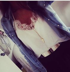 blouse lace tank too lace top
