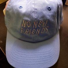 cf0426af54b78 No New Friends Dad Cap Hat
