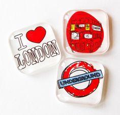 I Love London! $7.00, via Etsy.