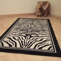 zebra print rug!