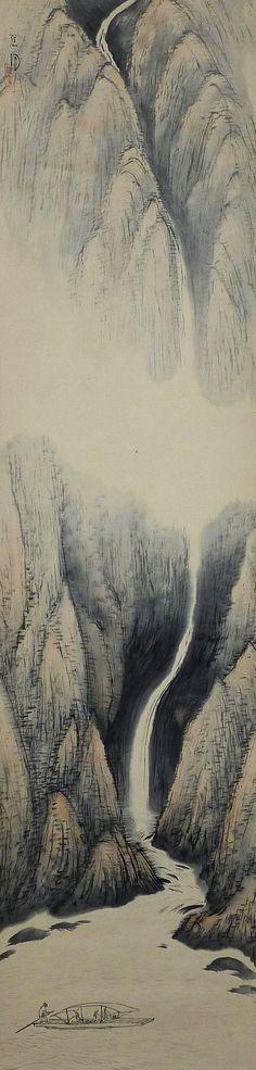 Genetsu Yazawa 矢沢弦月 (1886-1952).