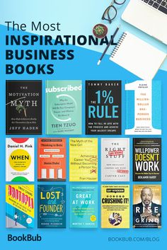 The most inspirational business books to read. Don't miss these motivational nonfiction books worth reading. The Best Business Books of 2018 Best Books To Read, Good Books, Book Club Books, Book Lists, Entrepreneur Books, Life Changing Books, Personal Development Books, Finance Books, Budget Planer