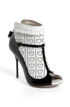 Sophia Webster 'Sadie 2' Peep Toe Leather Bootie