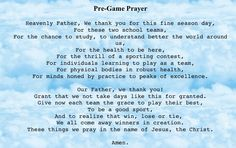 Pre game prayer!! NEED to do this before the next game!!!!!:)