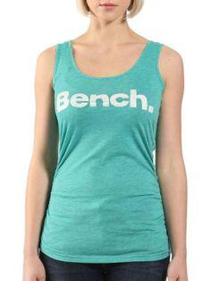Débardeur Bench streetwear Veststar couleur bleu turquoise