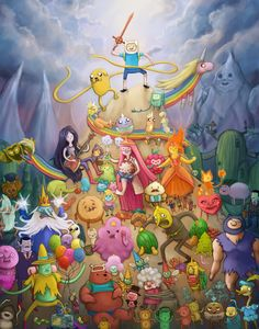 Adventure Time one of the best shows in the world - oh my gosh I love tiffany!
