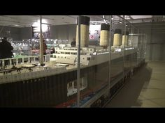 Big Titanic Lego Video