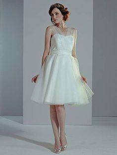 Sally tulle wedding dress