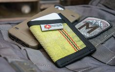 Recycled Firefighter Sergeant Fire Hose Wallet Slim