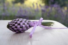 Lavender spindle // MY GARDEN by WRUM on Etsy