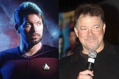Then and Now #startrek #startrekthenextgeneration #tng #ussenterprised #1701D #riker