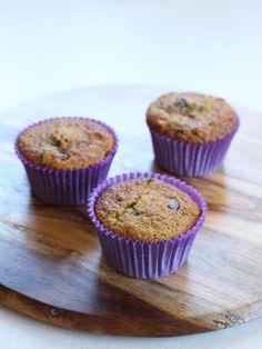 Chunky monkey paleo muffins
