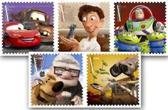 """USPS """"Send A Hello"""" stamps"""