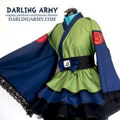 Kakashi Naruto Kimono Dress | Darling Army