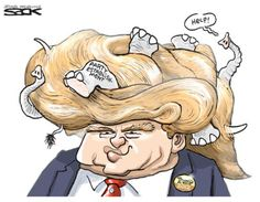 Donald Trump Cartoons: Trump and GOP Establishment