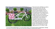 Bicycle Pannier Bag Instructions and Pattern.pdf