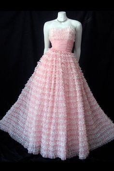 old dior pink dress