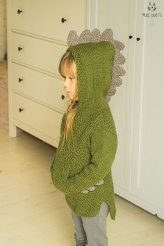 This is knitting pattern for hooded sweater Rex. Knitted with medium weight yarn., This is knitting pattern for hooded sweater Rex. Knitted with medium weight yarn and seamed from the sides. The hooded sweater has a big hidden pocket. Knitting For Kids, Crochet For Kids, Knitting Projects, Baby Knitting, Crochet Baby, Knit Crochet, Knitting Ideas, Sweater Knitting Patterns, Knit Patterns