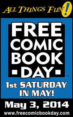 WELCOME TO HELL ~ by Glenn Walker: Free Comic Book Day 2014 http://monsura.blogspot.com/2014/05/free-comic-book-day-2014.html